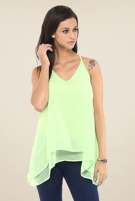 Yepme Green Patricia Cami Top