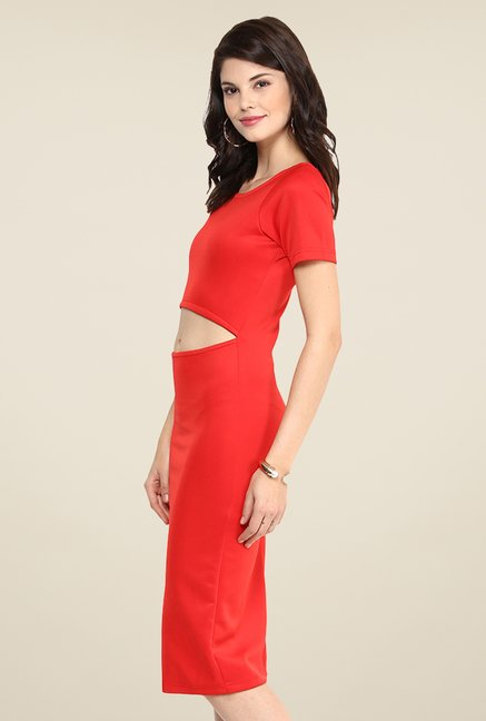 Yepme Marina Red Bodycon Dress