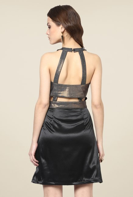 Yepme Enya Black Party Dress