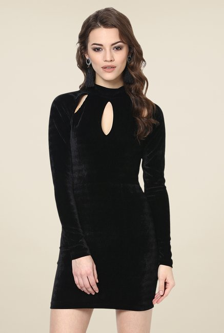 Yepme Odilly Black Party Dress