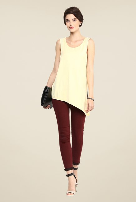 Yepme Yellow Blanca Premium Top