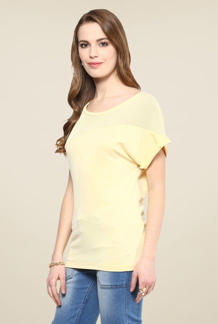 Yepme Yellow Emilia Premium Top