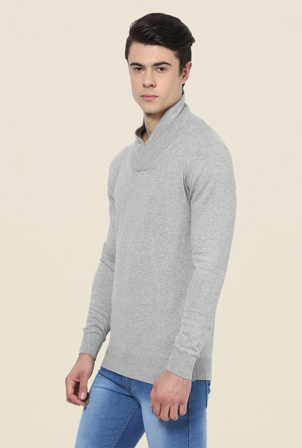 Yepme Grey Adrian Sweater