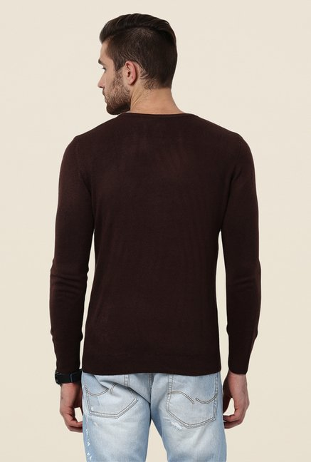 Yepme Brown Alder Sweater