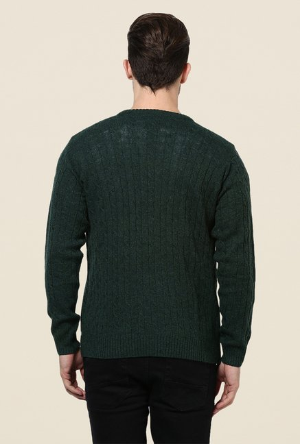 Yepme Green Kolten Sweater