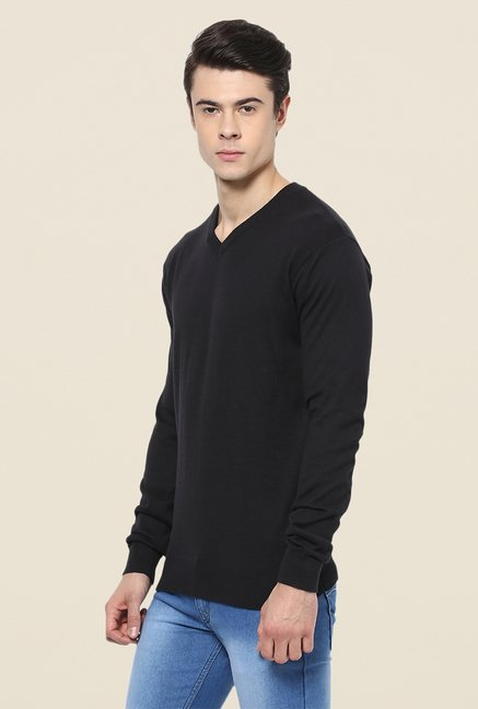 Yepme Black Marvin Sweater