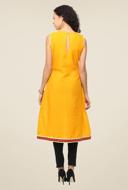Yepme Orange Beatriz Premium Kurti