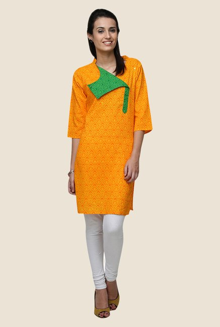 Yepme Betty Yellow Flap Kurti