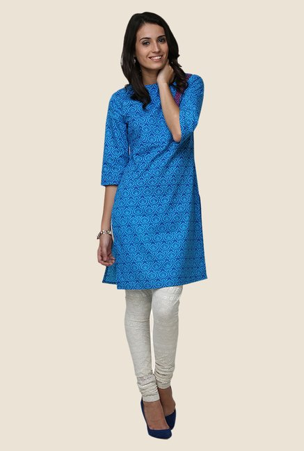Yepme Betty Blue Flap Kurti