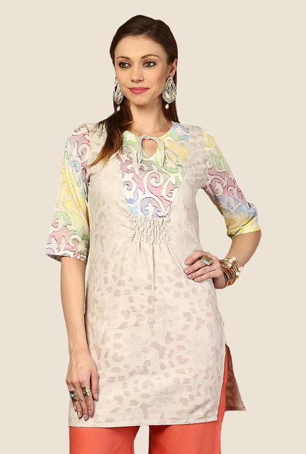 Yepme Multicolor Hanna Tie-up Kurti