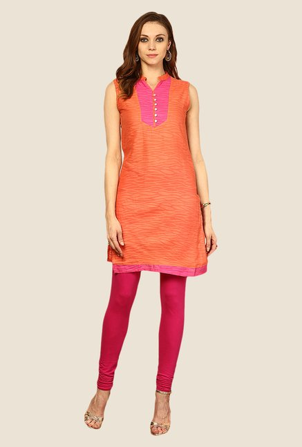 Yepme Coral Sharlene Animal Print Kurti