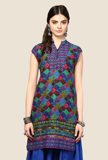Yepme Multicolor Frieda Printed Kurti