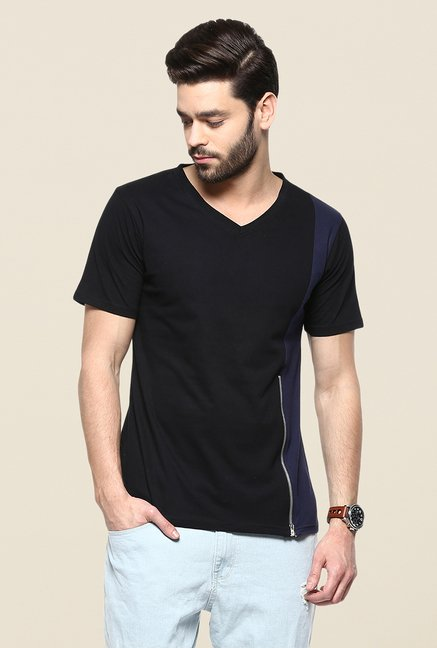 Yepme Black & Blue Reeves T Shirt