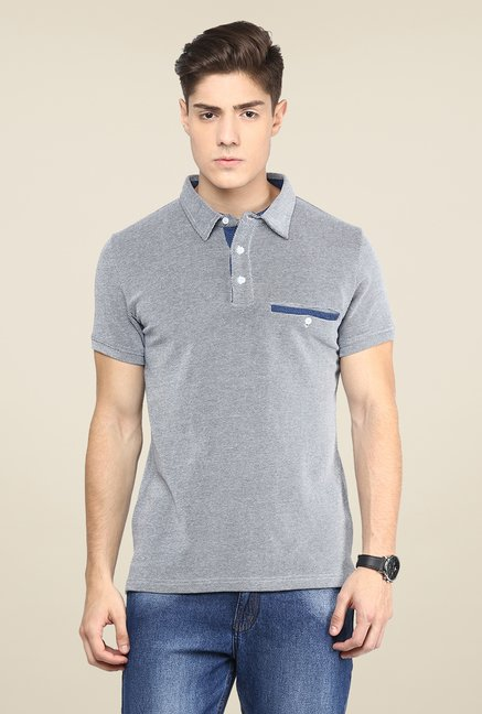 Yepme Blue Polo T Shirt