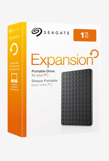 Seagate 1 TB External Hard Disk (Black)