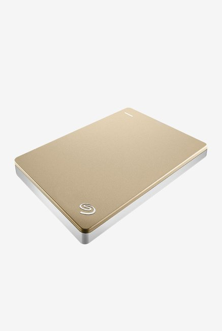 Seagate 2 TB External Hard Disk (Gold)