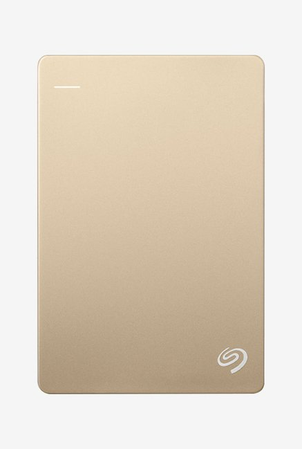 Seagate 1 TB External Hard Disk (Gold)