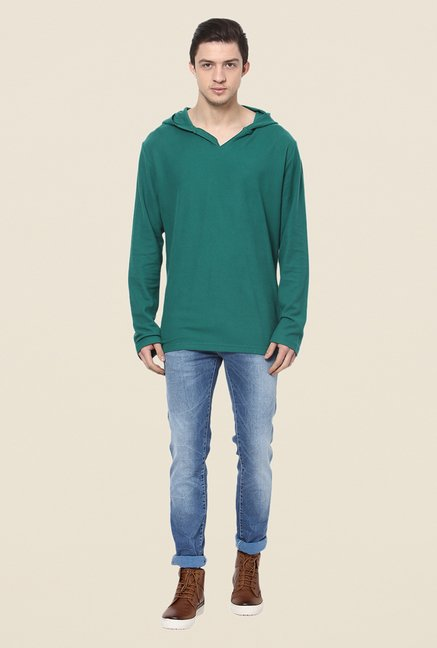 Yepme Green Marc T Shirt