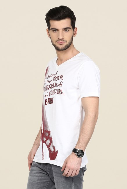 Yepme White T Shirt