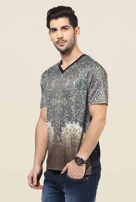 Yepme Brown Moroccan T Shirt