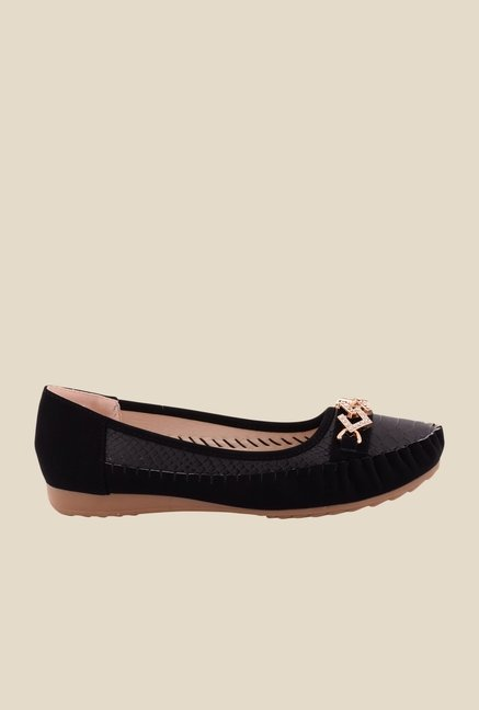 Cocoon Black Flat Ballets
