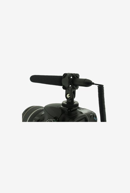 Polaroid Pro Video Shotgun Microphone Camcorders (Black)