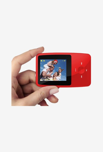 Ematic 4 GB MP3 Video Player with 5MP Digital Camera (Red)