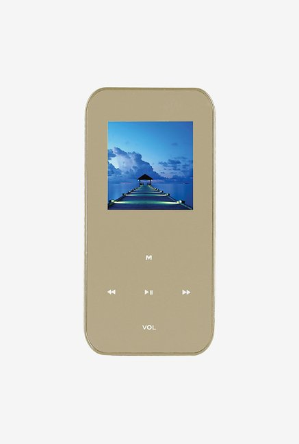 "Ematic 4 GB MP3 Video Player with 1.5"" Screen (Gold)"