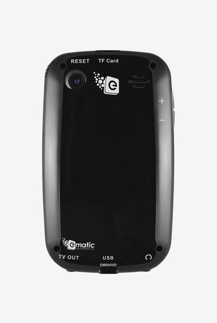Ematic 4 GB Video MP3 Player with 5 MP Camera (Black)