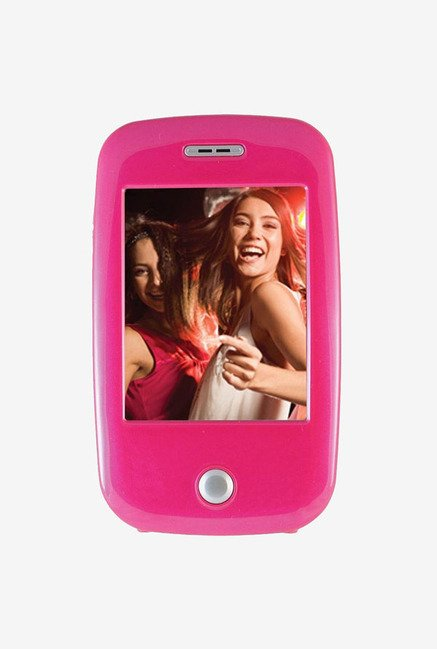 Ematic 4 GB Video MP3 Player with 5 MP Camera (Pink)