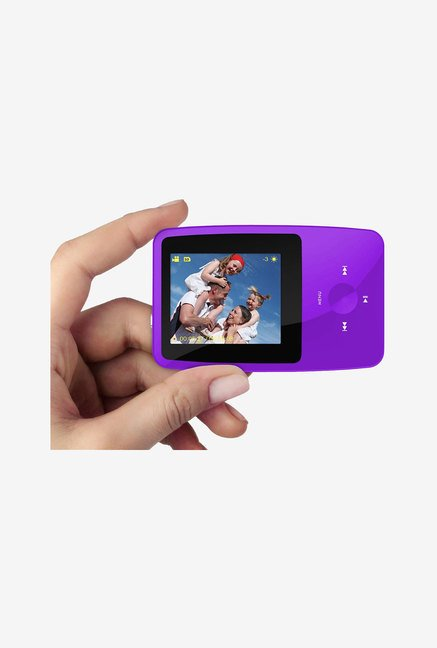 Ematic 4GB MP3 Video Player with 5MP Digital Camera (Purple)
