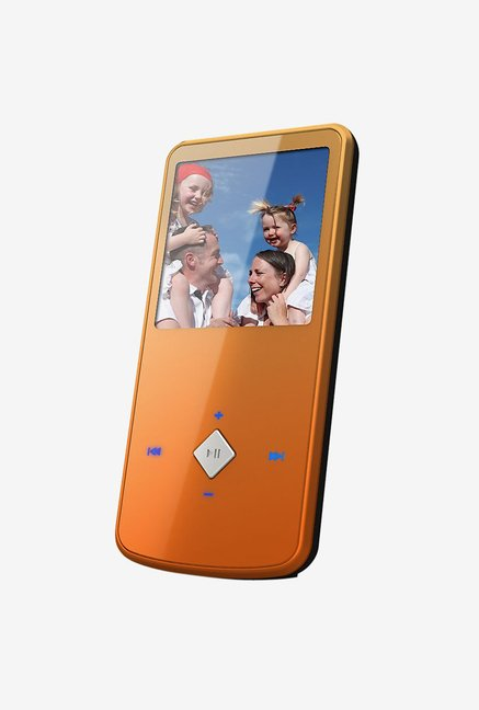 "Ematic 4 GB MP3 Video Player with 1.5"" Screen (Orange)"