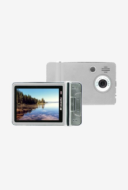 Ematic 4 GB Video MP3 Player with 5 MP Camera (Silver)
