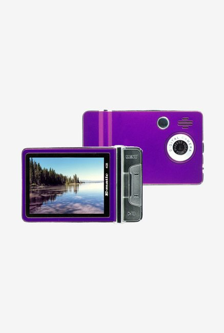 Ematic 4 GB Video MP3 Player with 5 MP Camera (Purple)