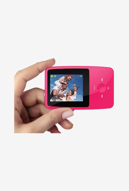 Ematic 4 GB MP3 Video Player with 5MP Digital Camera (Pink)