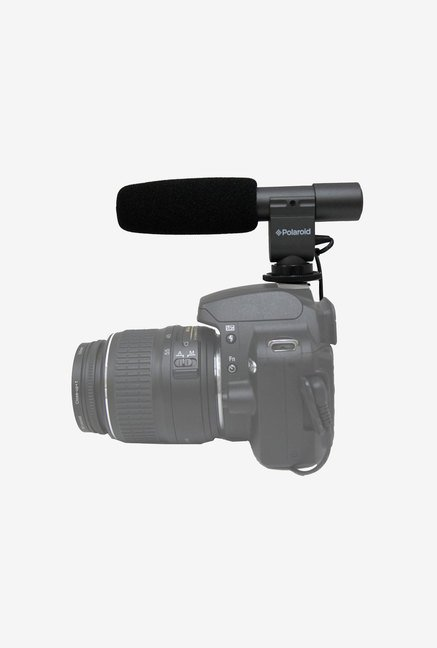 Polaroid Pro Shotgun Microphone for Olympus Evolt Pen(Black)