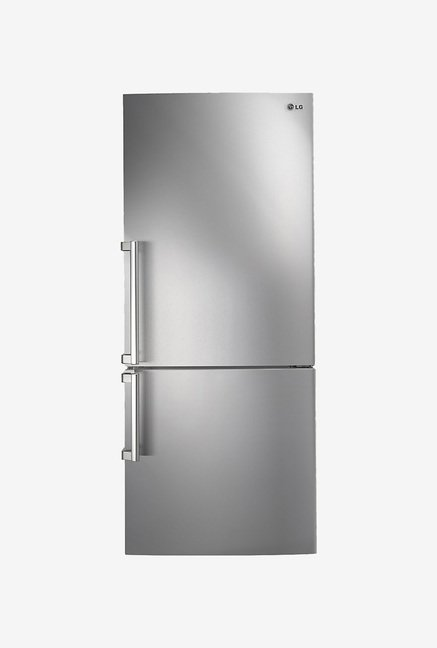 LG GC-B519ESQZ 450 L Double Door Refrigerator (Noble Steel)