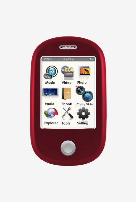 Ematic 8 GB MP3 Video Player with 5MP Digital Camera (Red)