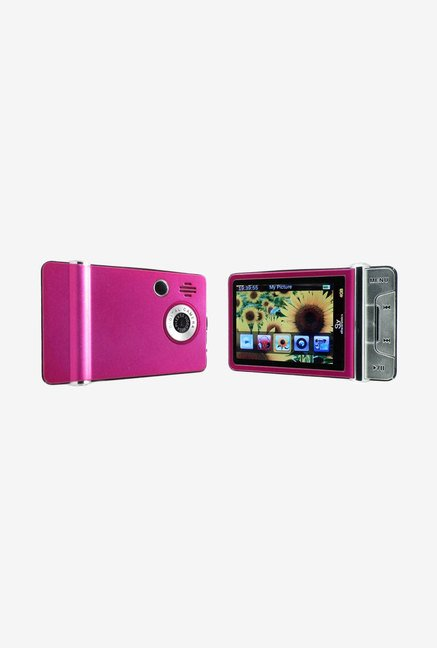 Ematic 4 GB Video MP3 Player with 2 MP Camera (Pink)