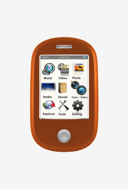Ematic 8 GB MP3 Video Player with 5MP Camera (Orange)