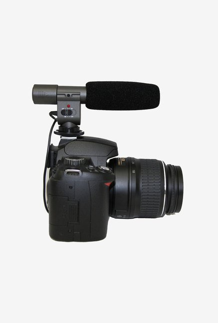 Polaroid Pro Shotgun Microphone for Canon (Black)