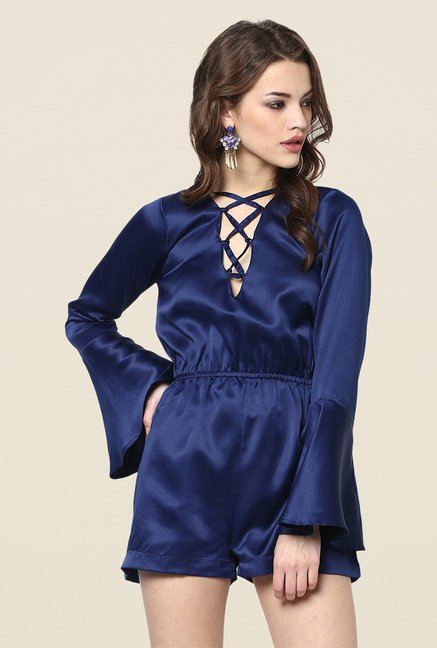 Yepme Ellen Blue Party Jumpsuit