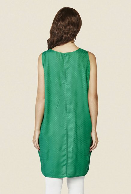 AND Green Self Print Tunic