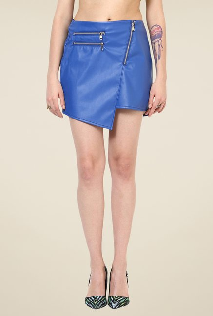 Yepme Blue Fruma Party Skirt