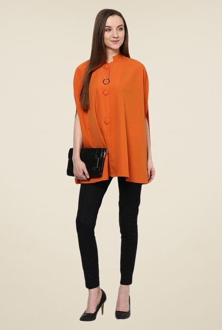 Yepme Orange Arianna Cape