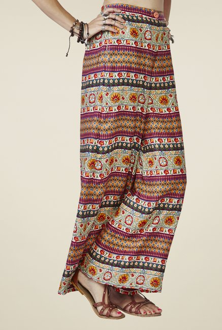 Global Desi Multicolor Marlowe Palazzos