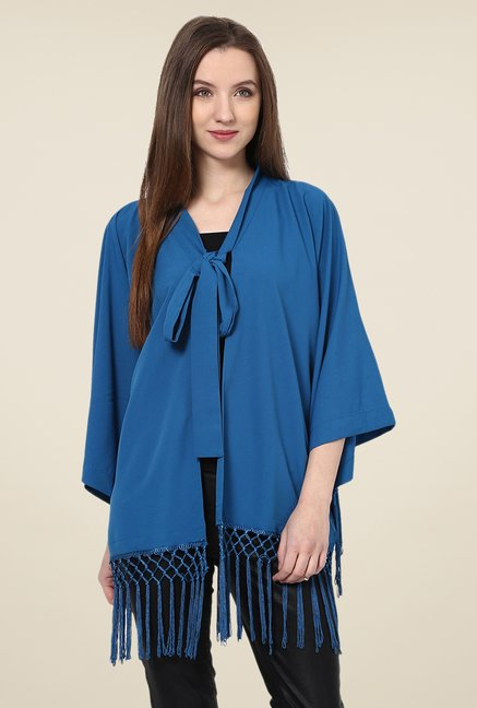 Yepme Blue Lynda Cape