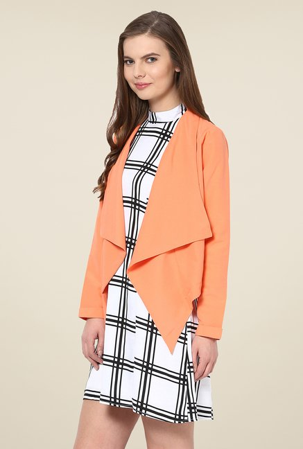 Yepme Coral Alyssa Draped Shrug