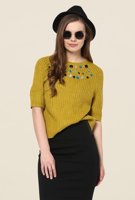 Yepme Olive Marilyn Sweater