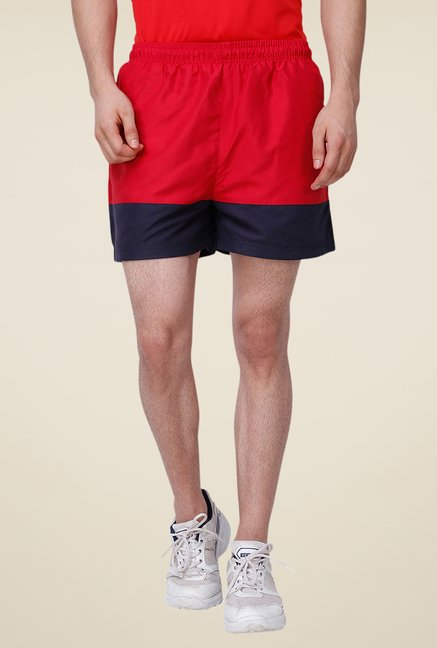 Yepme Red Ricky Shorts